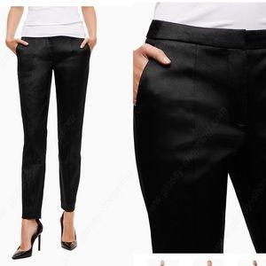 Aritzia Sz 0 Black Cigarette Pants Black